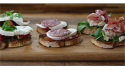 Trio of Crostini