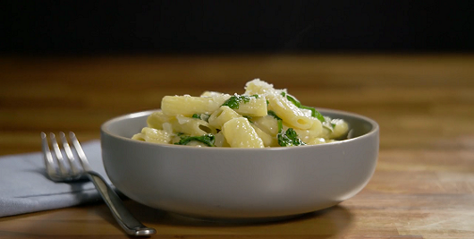 Rigatoni and Spinach Recipe