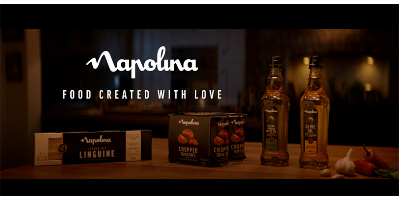 Napolina Brand Relaunch & TV Ad 2019