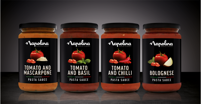 Sauces Our Range Napolina